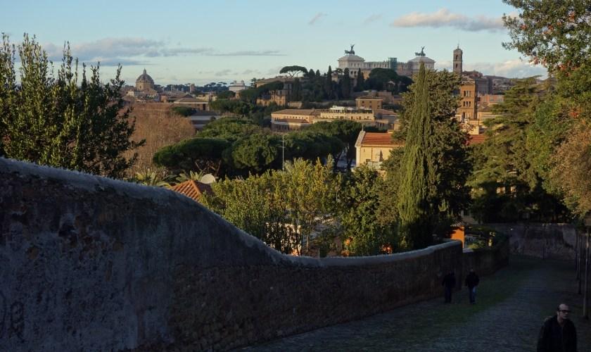 A Rome sur les collines : l'Aventin