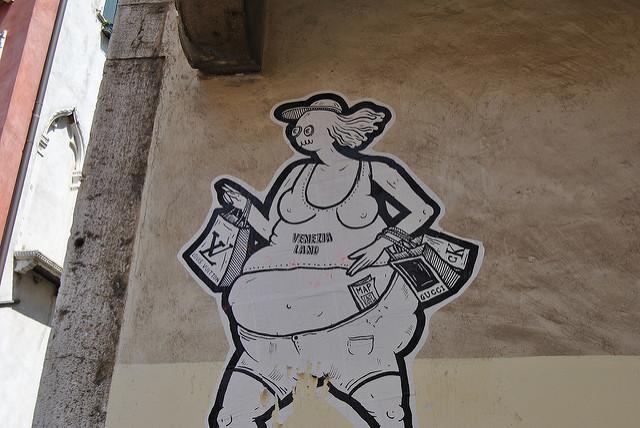 L'image que le touriste renvoie aux vénitiens n'est pas tout à fait valorisante