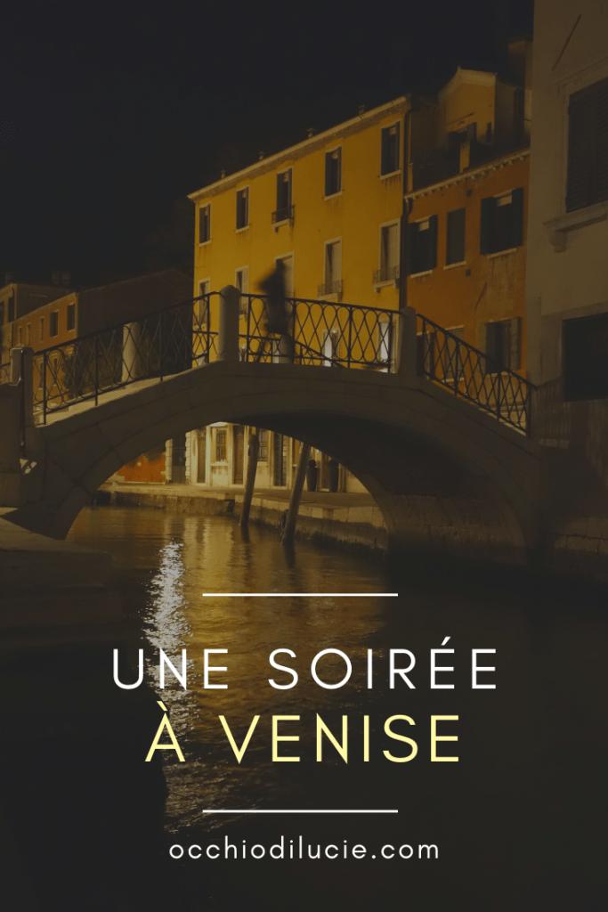 sortir Venise