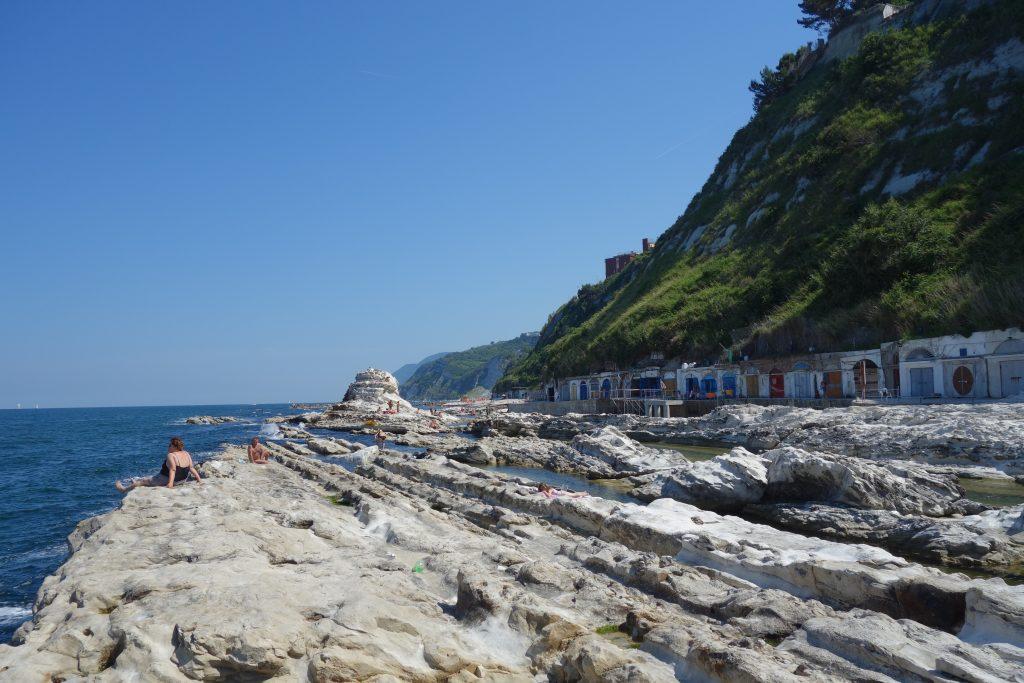 Le passeto, plage d'Ancone