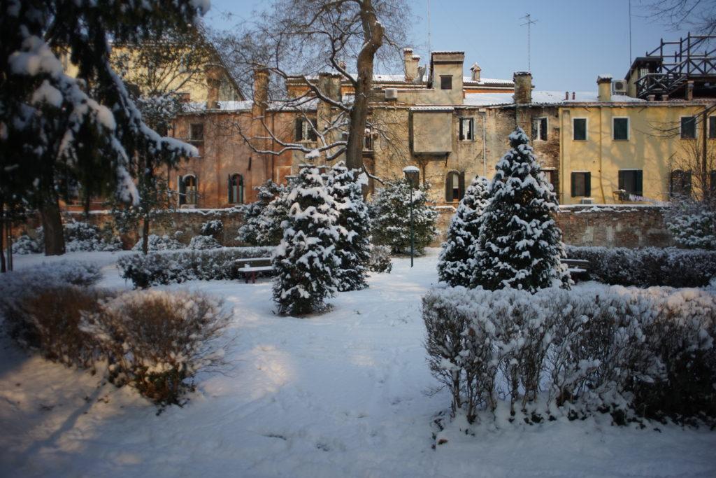 neige à Venise