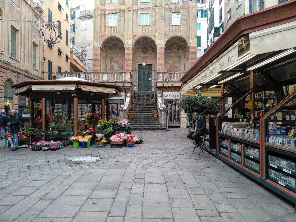 Une promenade à gênes