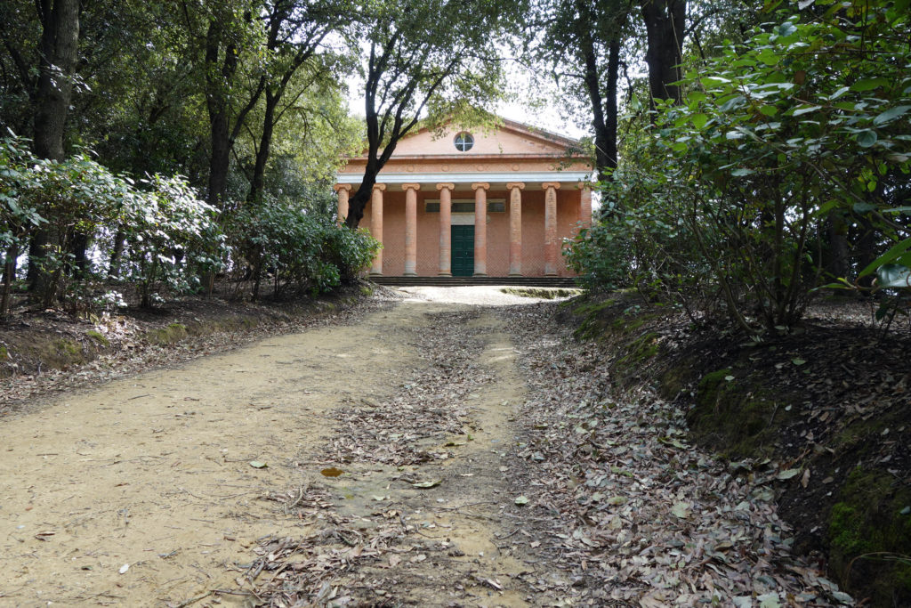 Visiter le Valdera : Temple de Minerve