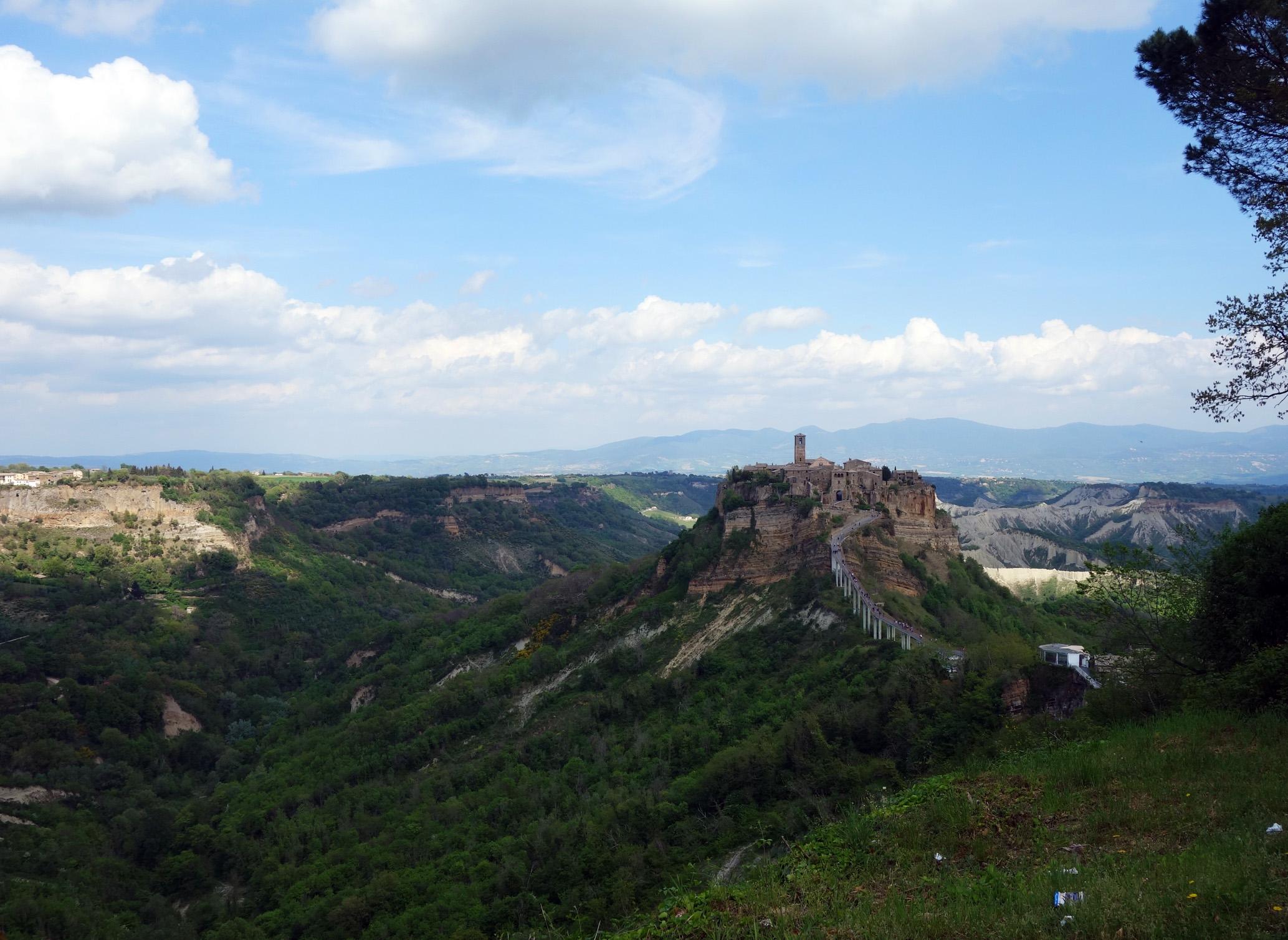 Visiter Civita di Bagnoregio