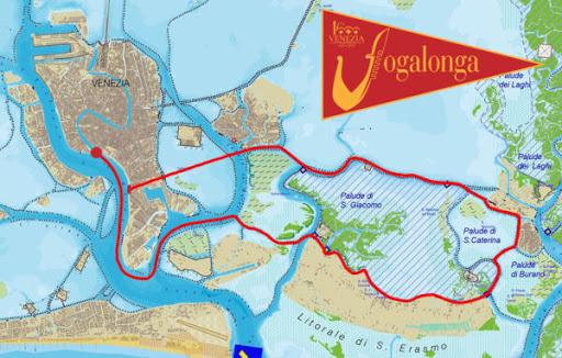 parcours vogalonga 2021