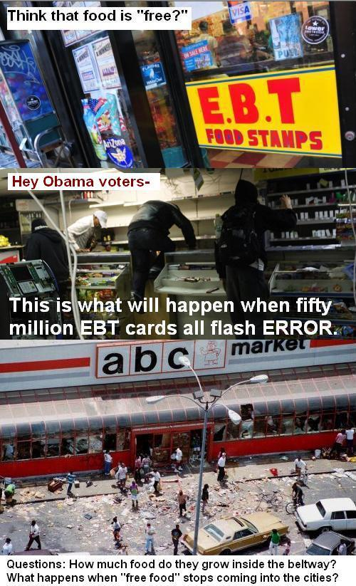 The Day The EBT Card Quits Working