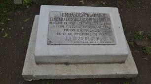 En Mulaló se encuentra la tumba de Palomo