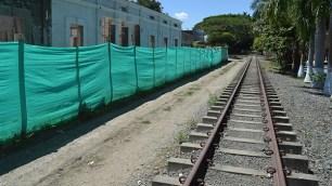 La estación del tren de Obando