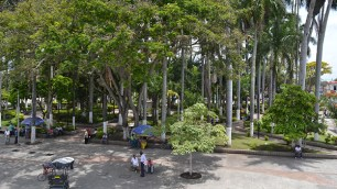 Parque pricipal del municipio