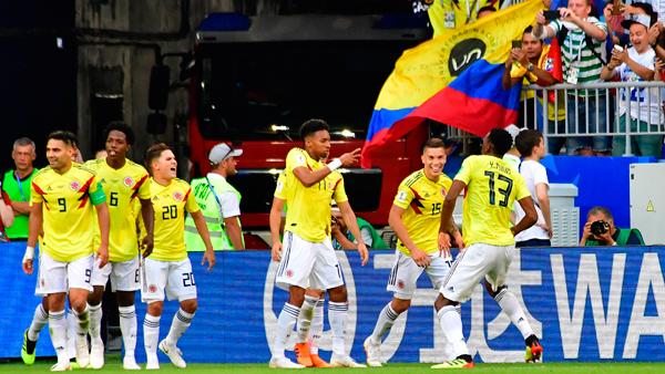 Colombia contra Senegal