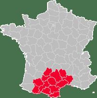 region occitanie pyrennees mediterranee
