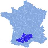 Les Territoires : Gers, Tarn-et-Garonne, Haute-Garonne, Lot, Tarn, Aveyron, Lozère