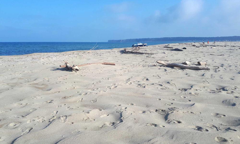 Пляж Les Coussoules