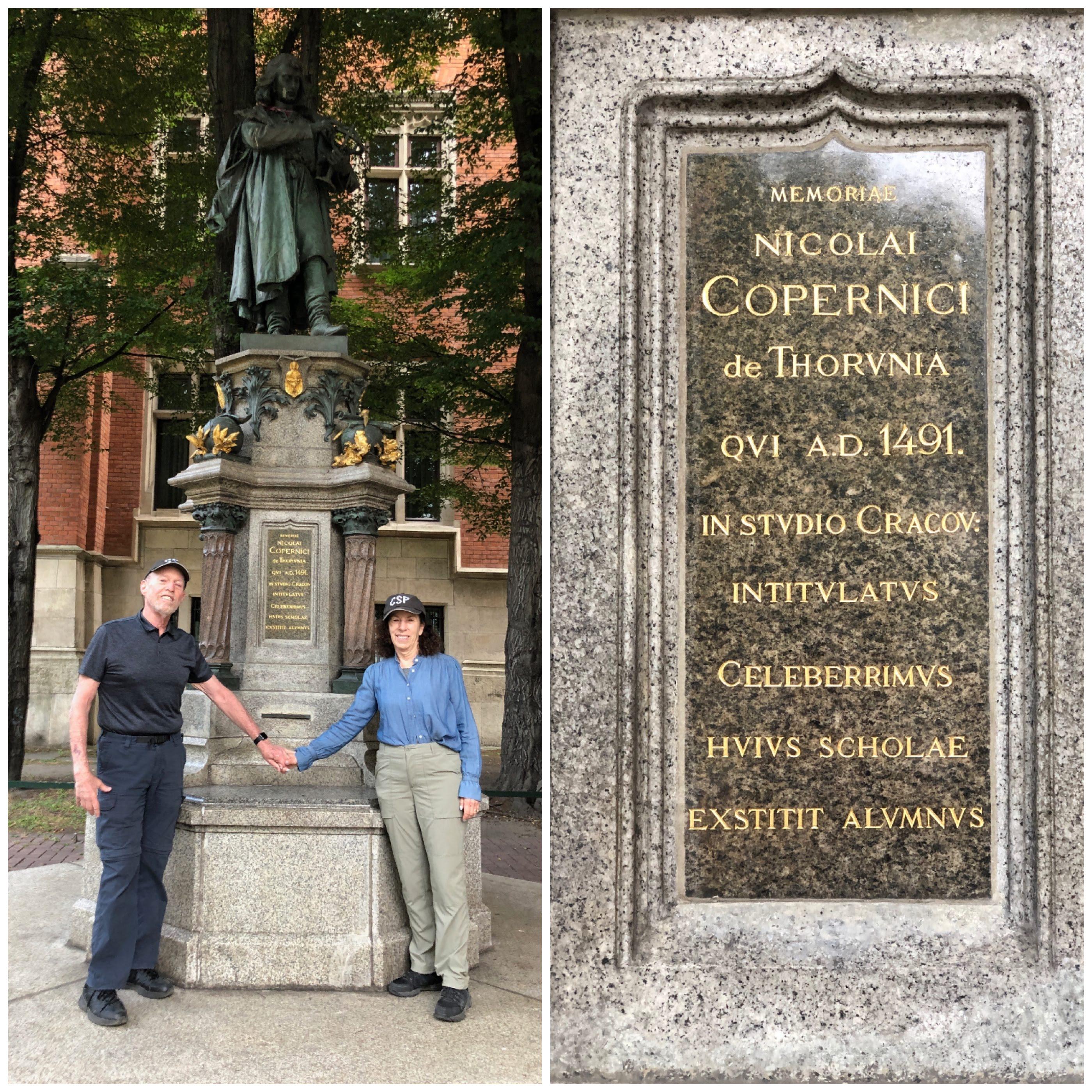 Copernicus Statue in Krakow