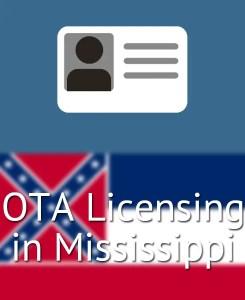 OTA Licensing in Mississippi