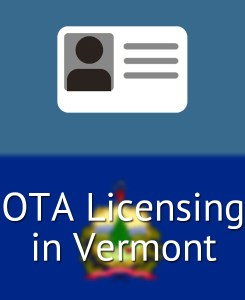 OTA Licensing in Vermont