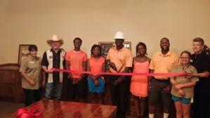 Ribbon Cutting for OSS