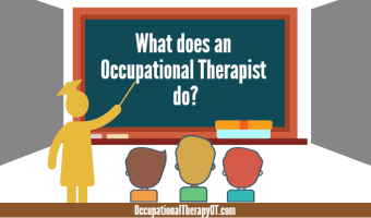 what does an occupational therapist do