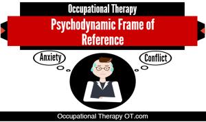 psychodynamic frame of reference