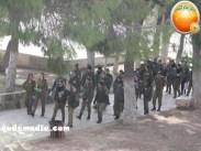 Jan 29 2013 Female Israeli Soldiers March through Aqsa Compound - Photo by QudsMedia 21