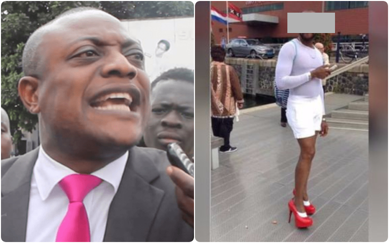 maurice ampaw reacts gay