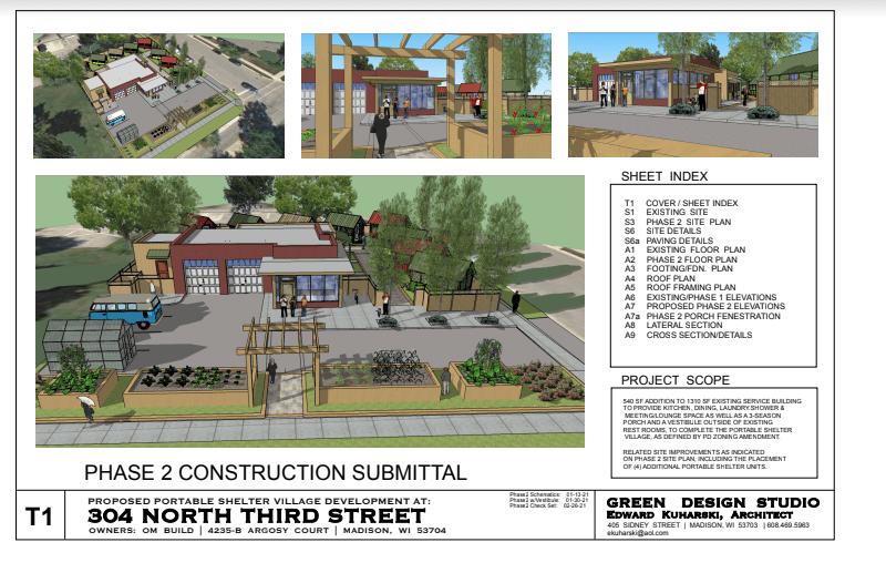 Spring Plans for 304 N 3rd St.