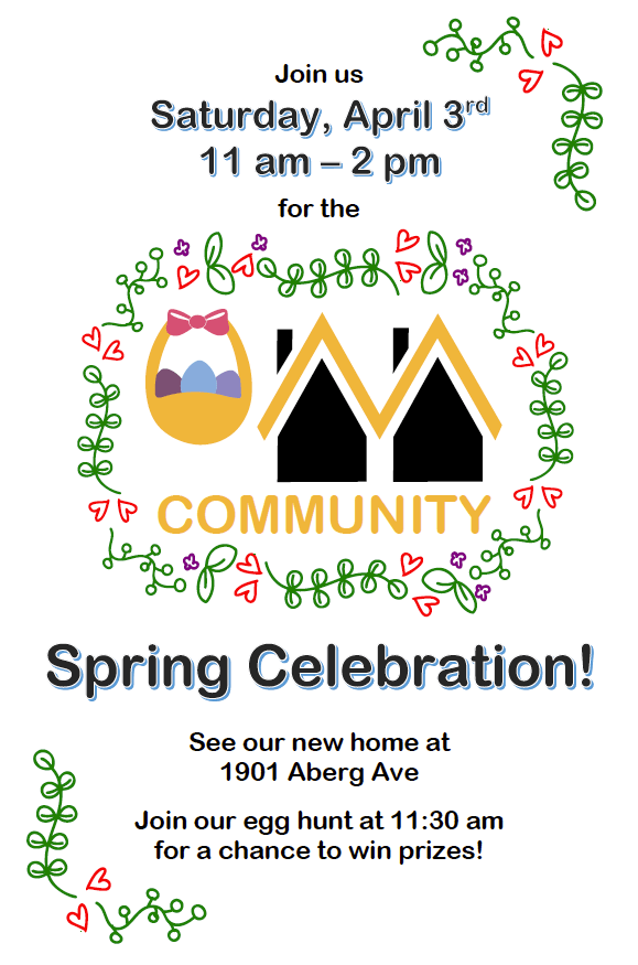 Celebrate Spring!  Egg Hunt and Mini-Tour of New Village