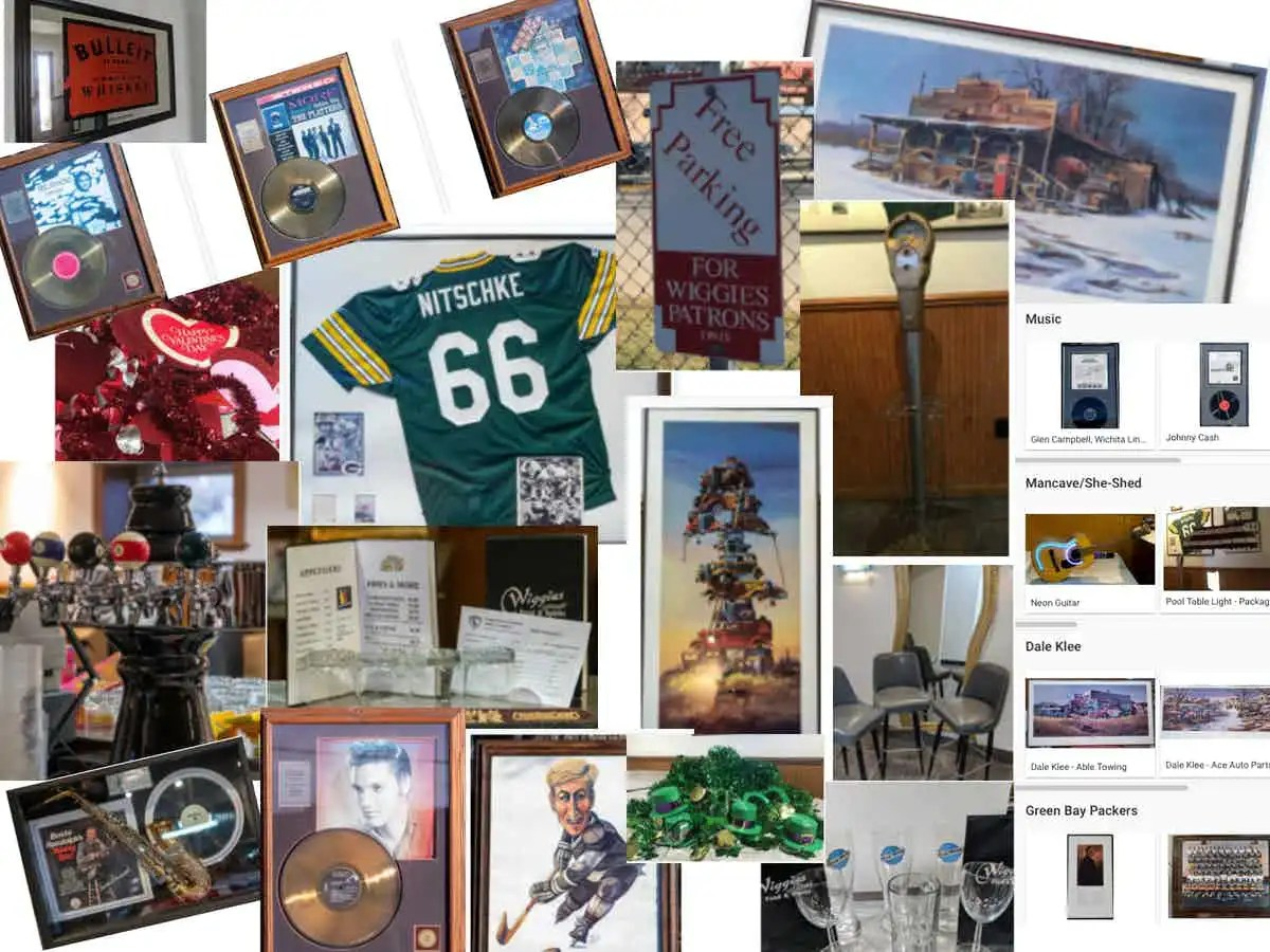 Wiggie's Memorabilia Silent Auction