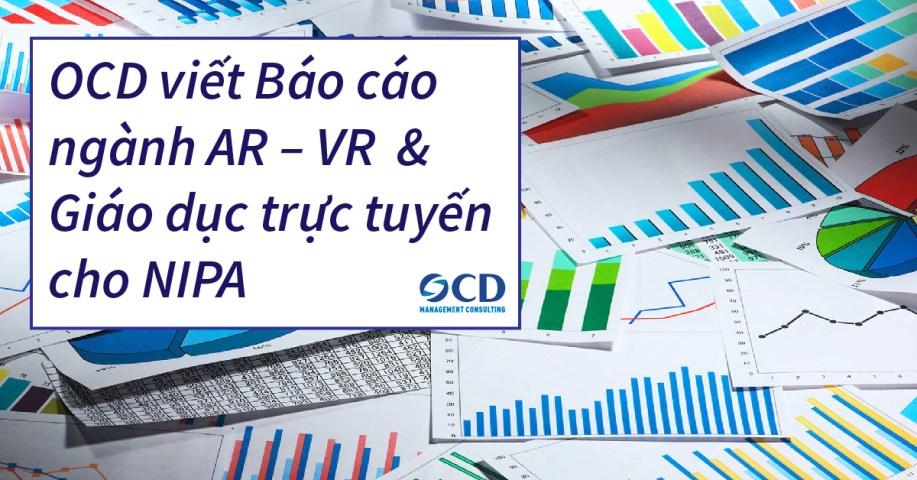 OCD viết Báo cáo ngành AR – VR & Giáo dục trực tuyến cho NIPA