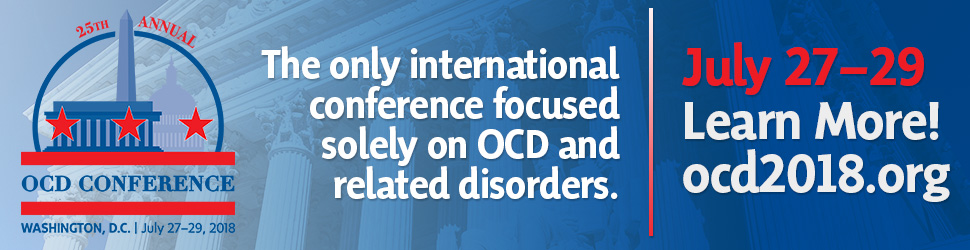 2018 OCD Conference Banner