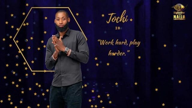 Tochi [Instagram/BigBroNaija]