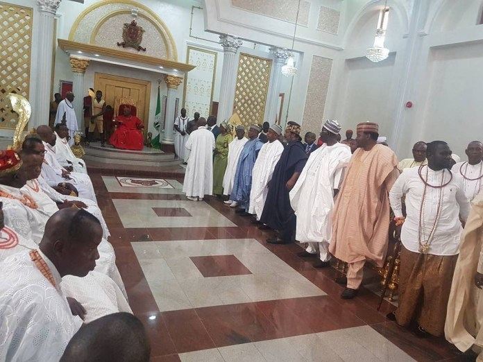 Oba of Benin's palace [Yeoal's Blogzine]