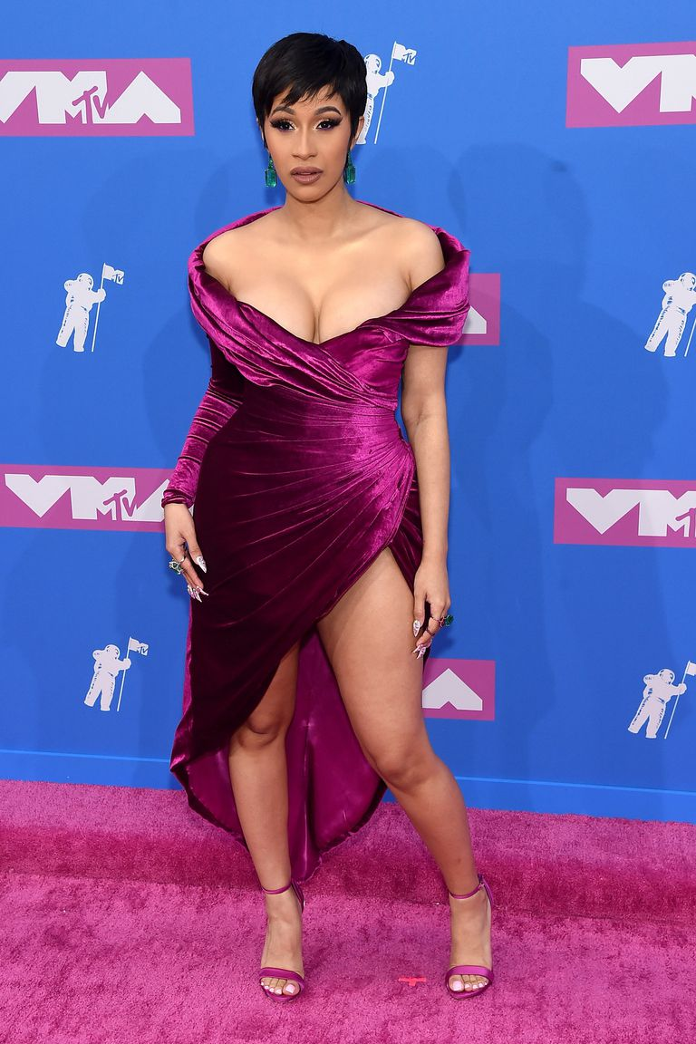 Cardi B at the 2018 MTV VMA Awards