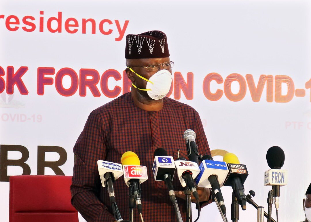 The Presidential Task Force For The Control Of Coronavirus (covid 19), Says It Has Successfully Traced No Fewer Than 8,932 People Of Interest And Is Still Monitoring 220 Others.   Alhaji La