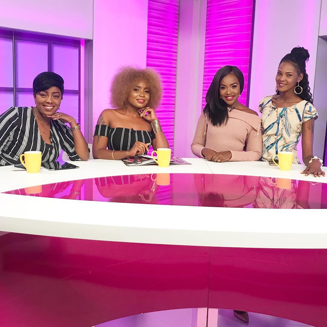 Singer Kush Tracey, Nzula Makosi, Jacky Matubia, and Nonny Gathoni