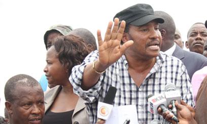 File image of Ferdinand Waititu