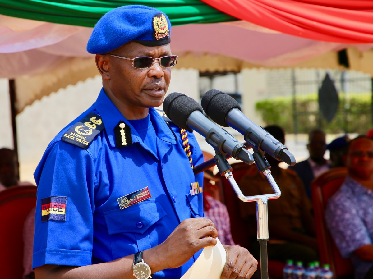 Inspector General Jospeh Boinnet speaking during a past public function (Twitter)