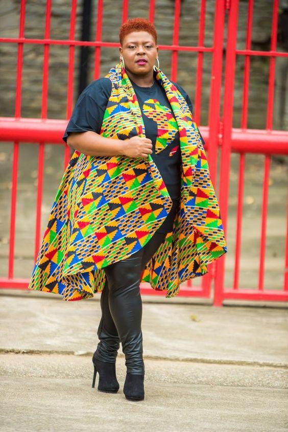 Ankara styles for plus size women (pinterest)