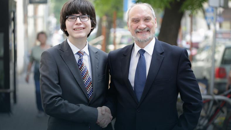 Edmund Janniger i Antoni Maciereiwcz