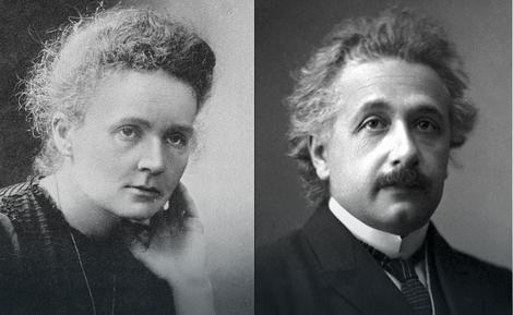 Marija Kiri i Albert Ajnštajn