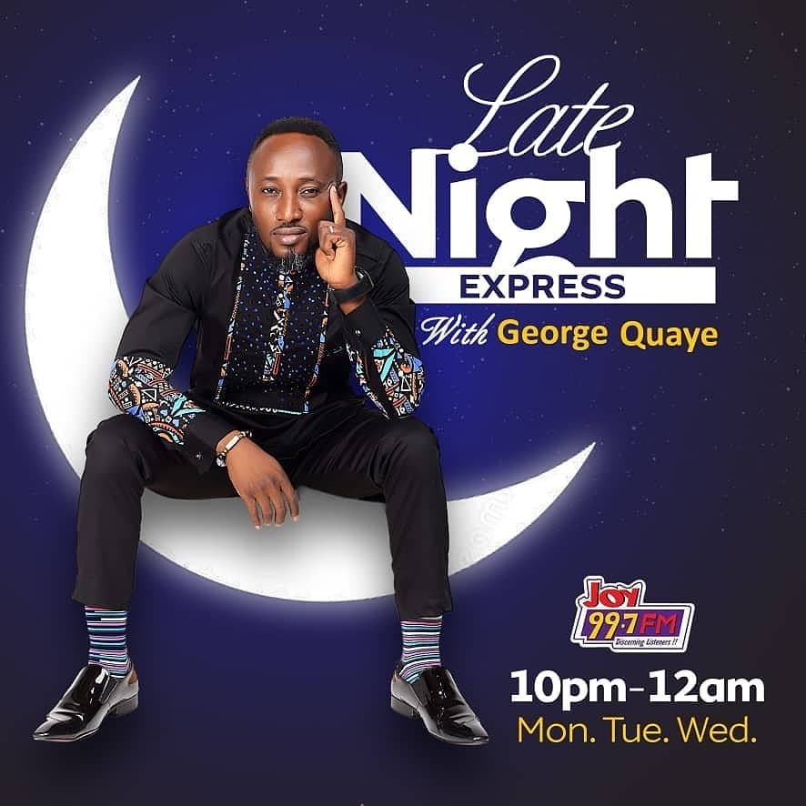 Image result for George Quaye joins Joy FM; hosts Late Night Express today