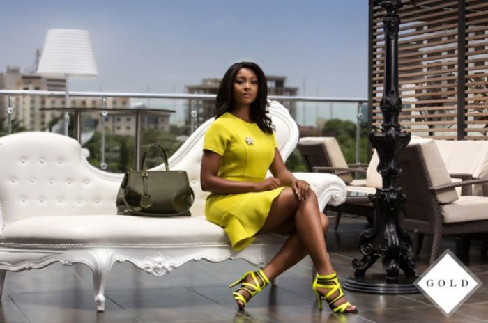 Osas Ighodaro tops the list of highest earning female Nigerian actors in 2018 [Gold Fashion Line]