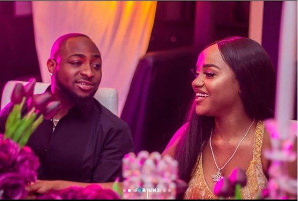 Davido and Chioma held the naming ceremony of their son, David Jn Ifeanyi Adeleke in the United Kingdom.  (Pulse)