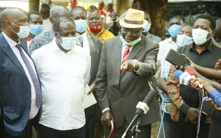 Western Kenya leaders allied to Kakamega Governor Wycliffe Oparanya and Eugene Wamalwa