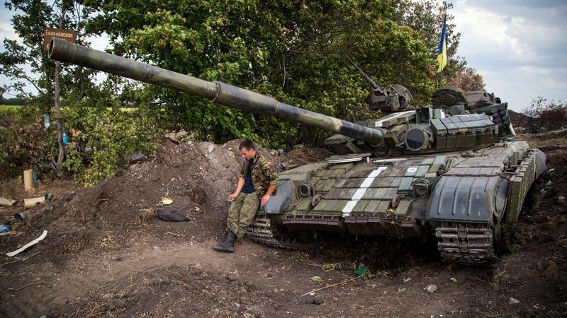 Walki na Ukrainie coraz mocniej się zaostrzają