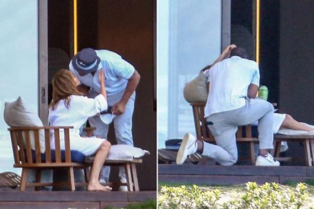 Jennifer Lopez and her former partner Alex Rodriquez [PageSix]