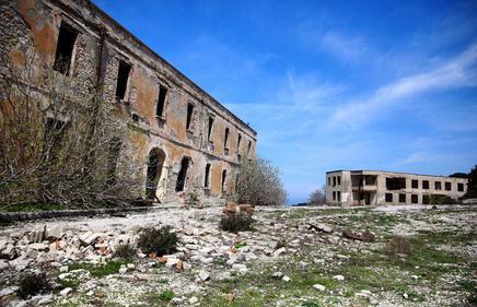 Wyspa Sazan w Albanii