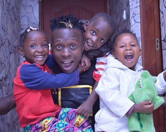 Oga Obinna. Pitson. Kenyan celebrities whose kids have unique names