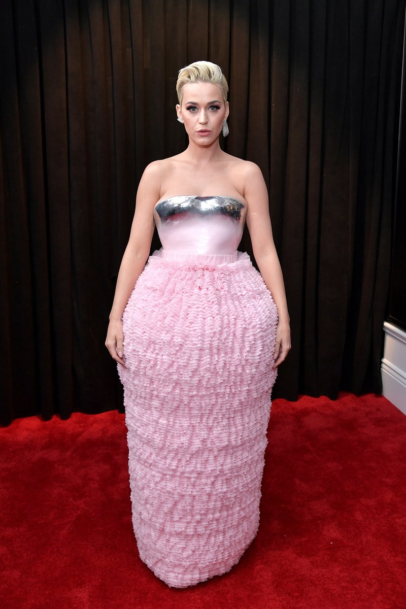 Katy Perry in Balmain Couture