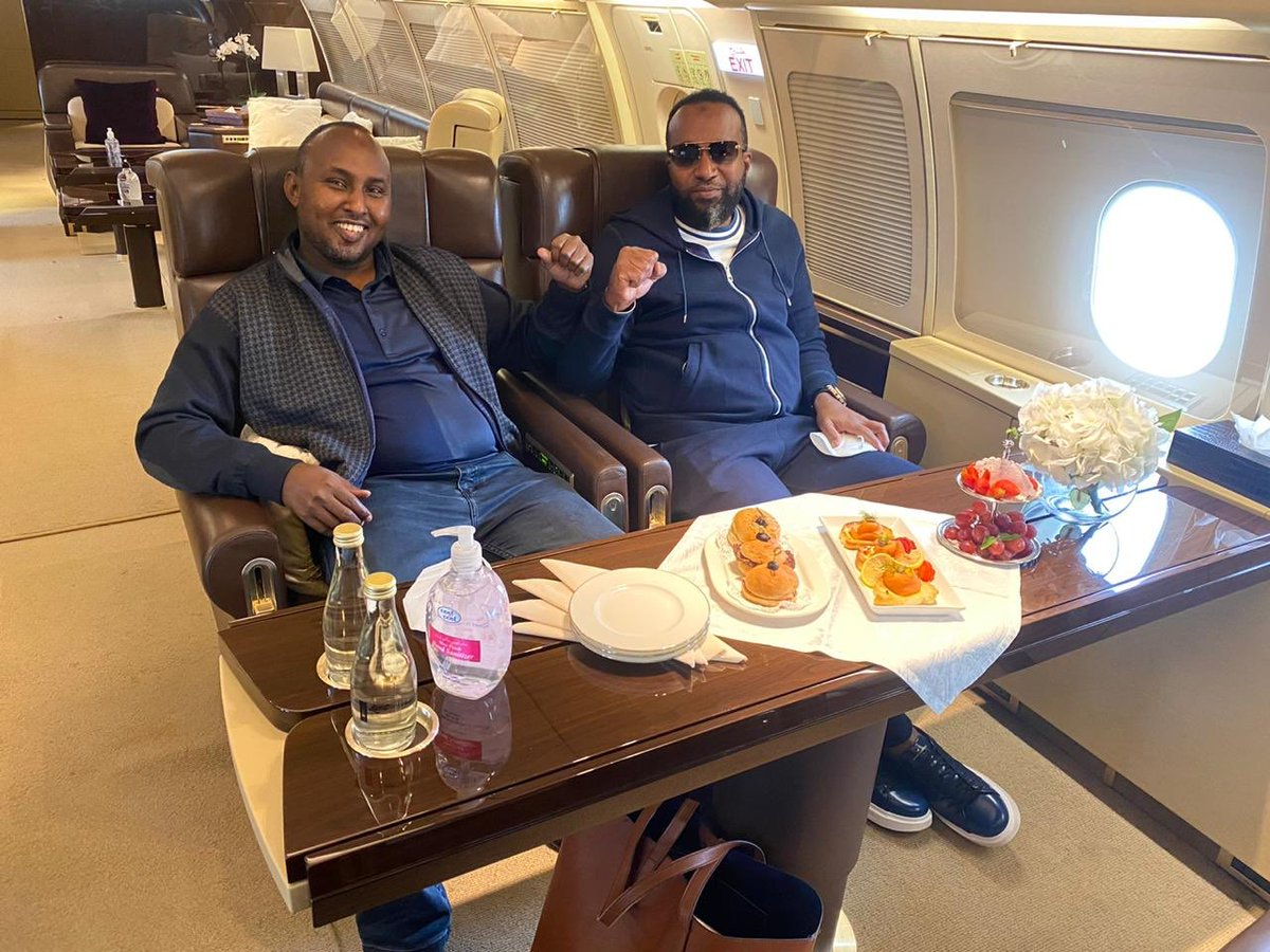 Flying in style: Governor Ali Hassan Joho & Junet Mohamed use private jet to visit Raila in Dubai